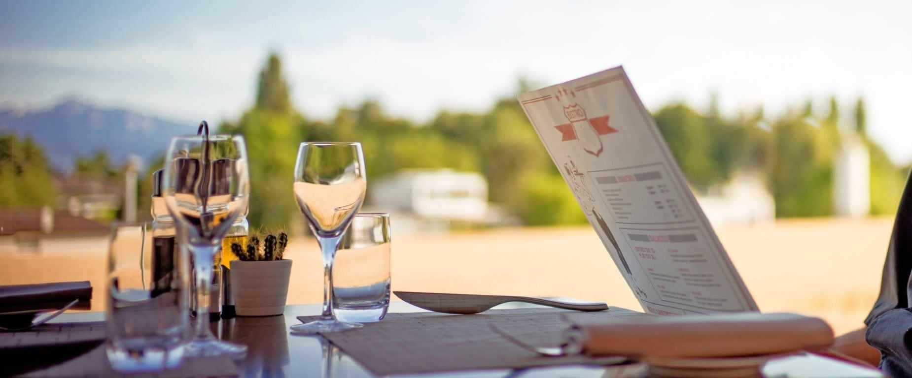 Déjeuner terrasse Stars restaurant