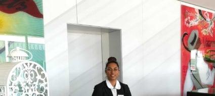 Interview employé apprentie réceptionniste