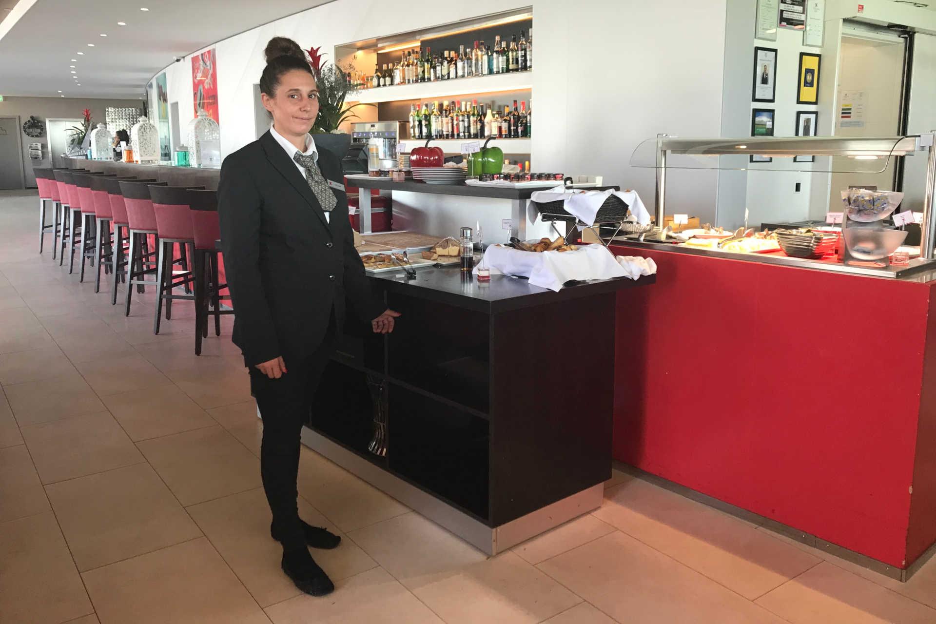 Employé Starling Lausanne Stars restaurant