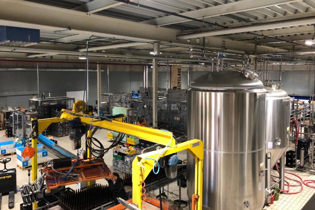 Visite usine Dr Gab's bière