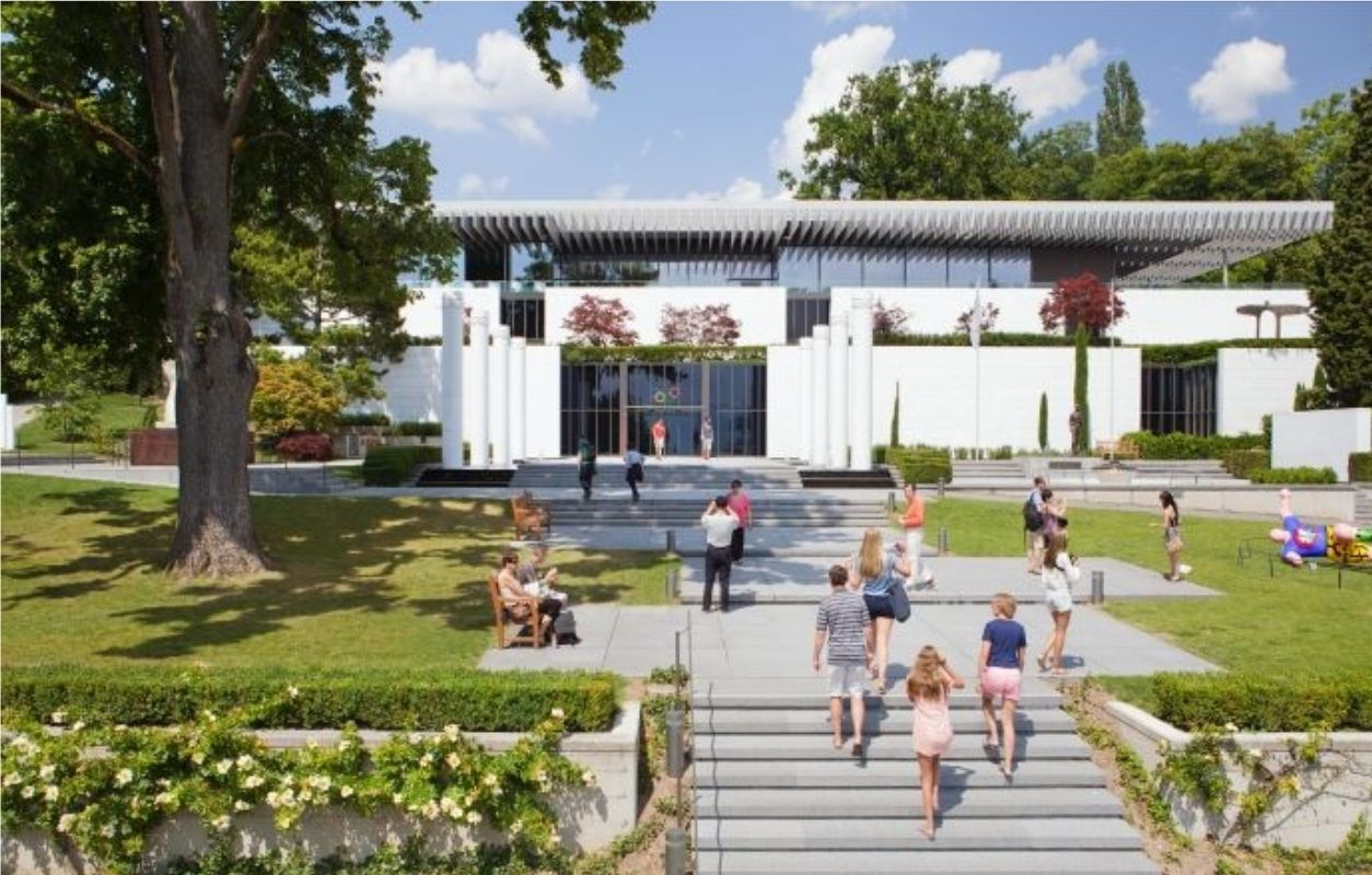 visit lausanne and olympic museum of ouchy