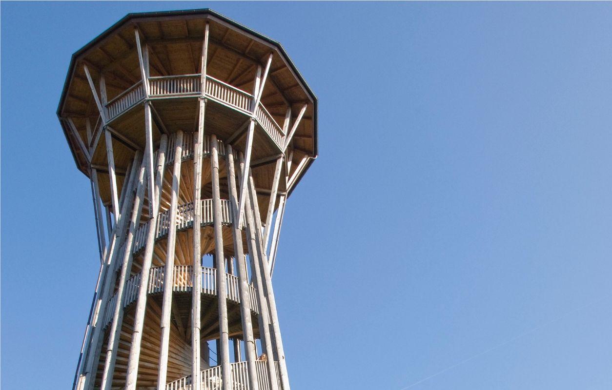 Besichtigung Sauvabelin-Turm Lausanne