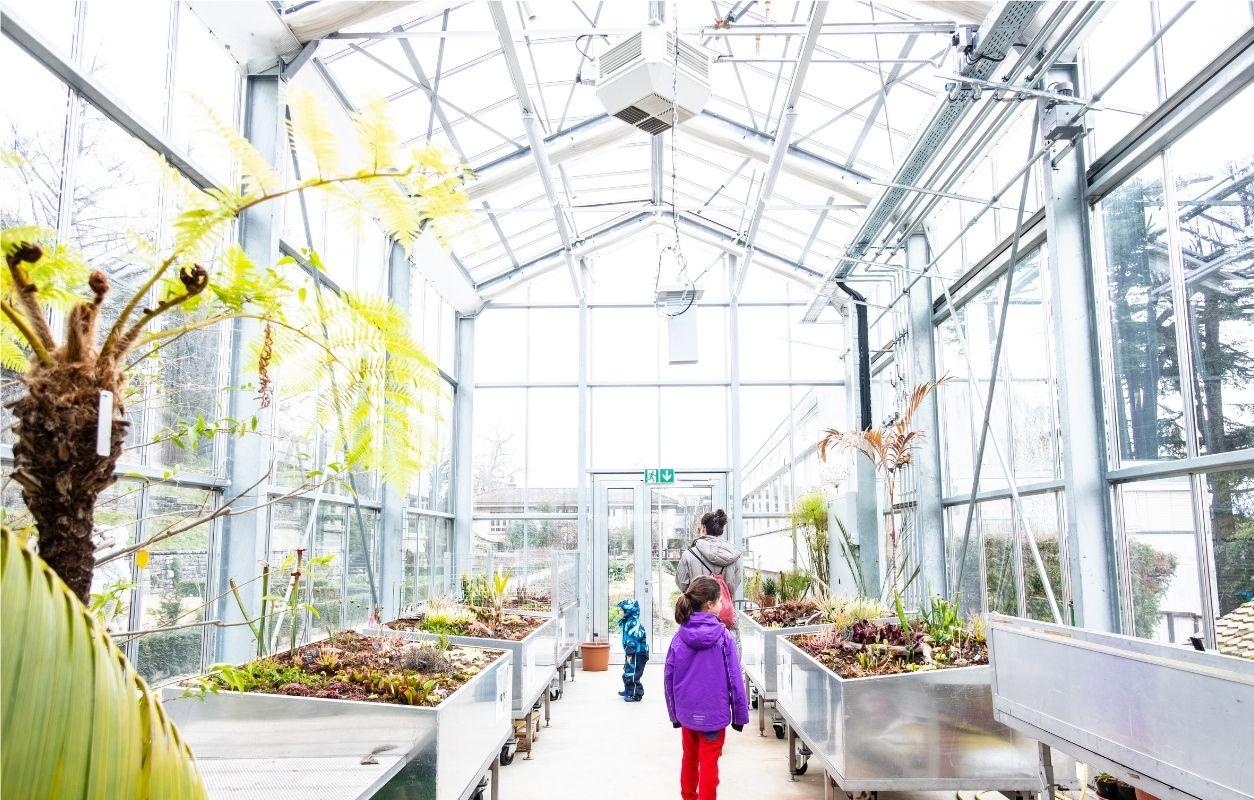 visite parc botanique lausanne