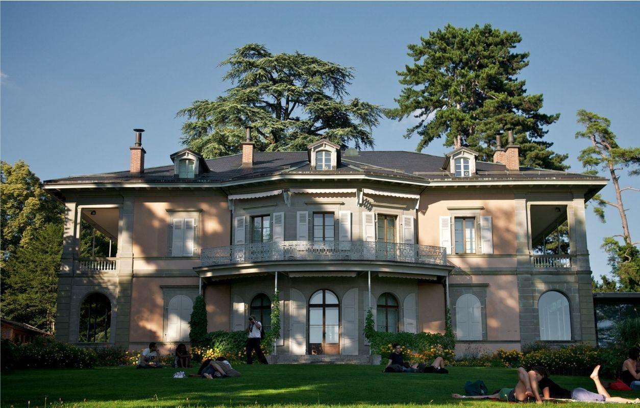 visite fondation hermitage lausanne
