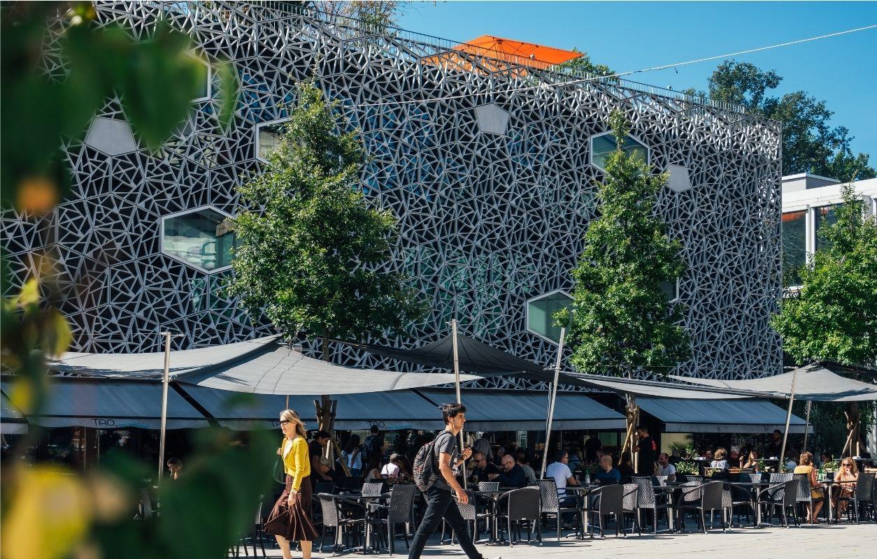 Besichtigung Lausanne und das gewerbliche Flon-Viertel