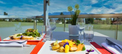 restaurant morges face lac léman